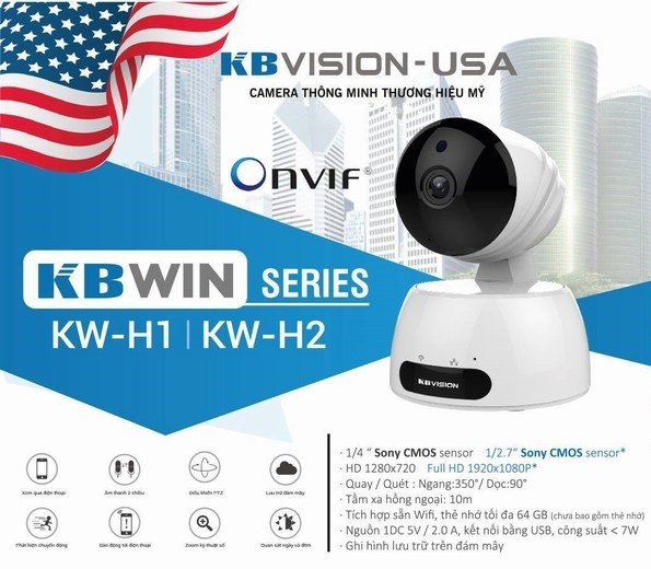 Lắp camera wifi kbvision H2 chất lượng tại Quận 4 giá rẻ chọn mua camera wifi Quận 4 uy tín tại An Thành Phát