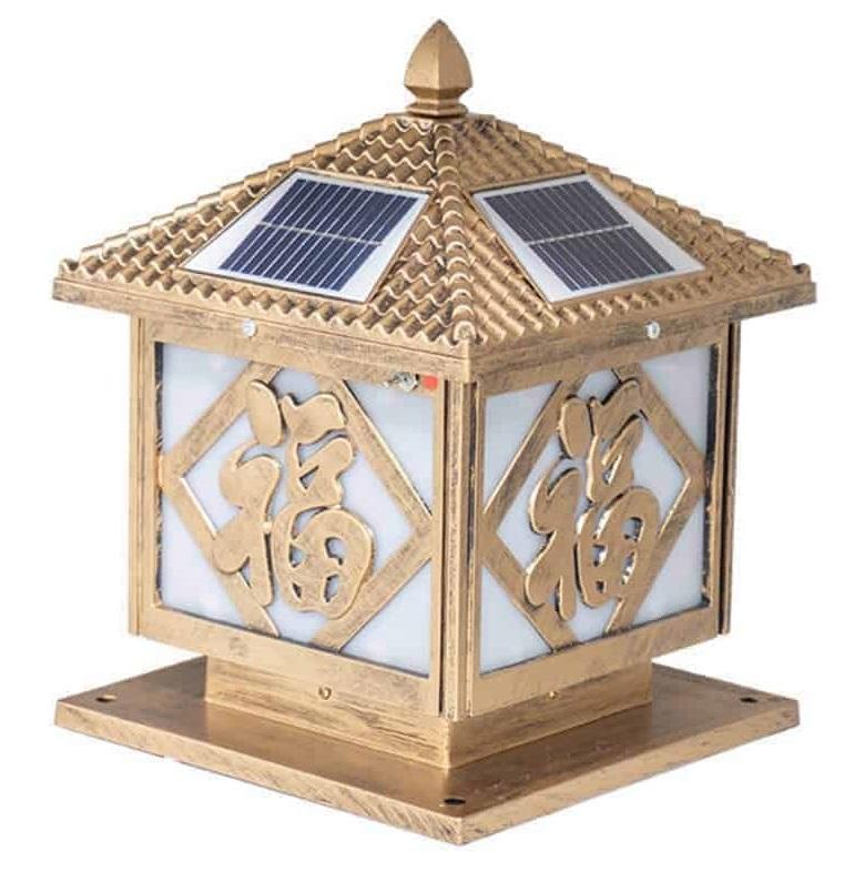 đèn năng lượng mặt trời chữ phúc, đèn năng lượng mặt trời sân vườn, đèn năng lượng mặt trời trước cổng,đèn  năng lượng mặt trời chữ Phúc – TC12,TC12, lắp đèn năng lượng mặt trời trước cổng