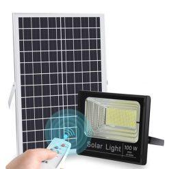 Đèn dùng năng lượng mặt trời lắp đặt đèn năng lượng mặt trời giá rẻ,đèn năng lượng mật trời US-8100P(100W),lắp đèn năng lượng mặt trời giá rẻ