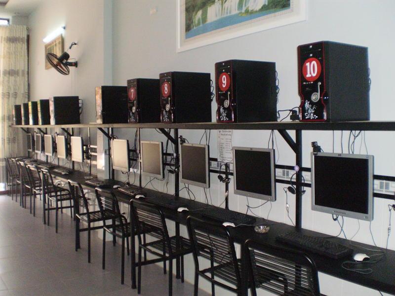 lắp đặt phòng net, phòng game chuyên nghệp, chơi game không lo lắc