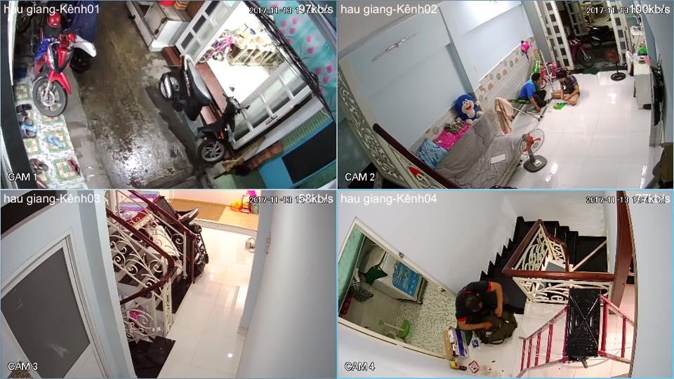 Lắp camera chống trộm cho gia đình