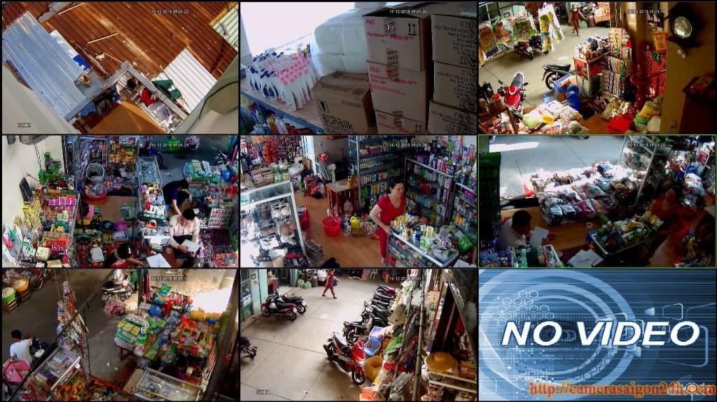lắp đặt hệ thống camera giám sát chuổi cửa hàng siêu thị