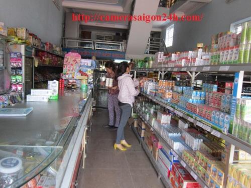 camera quan sat siêu thị