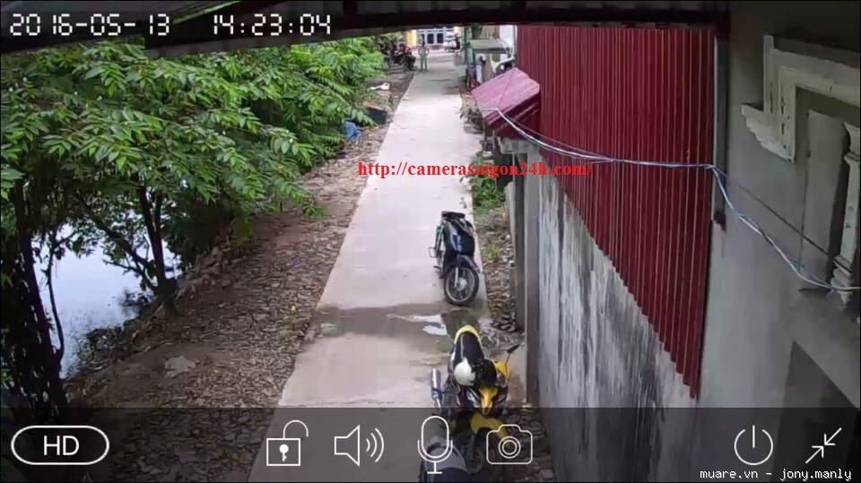 camera ip wifi ngoai troi