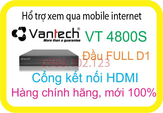 Đầu Ghi 4 port VT-4800S