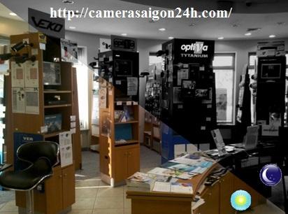 camera quan sát wifi quay 360 độ full hd