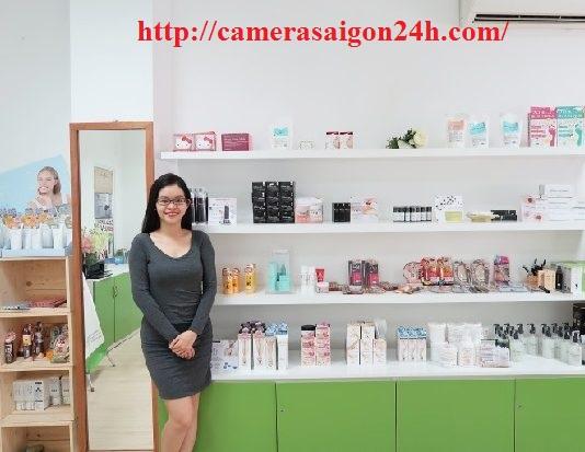 lap camera cho cửa hàng mỹ phẩm