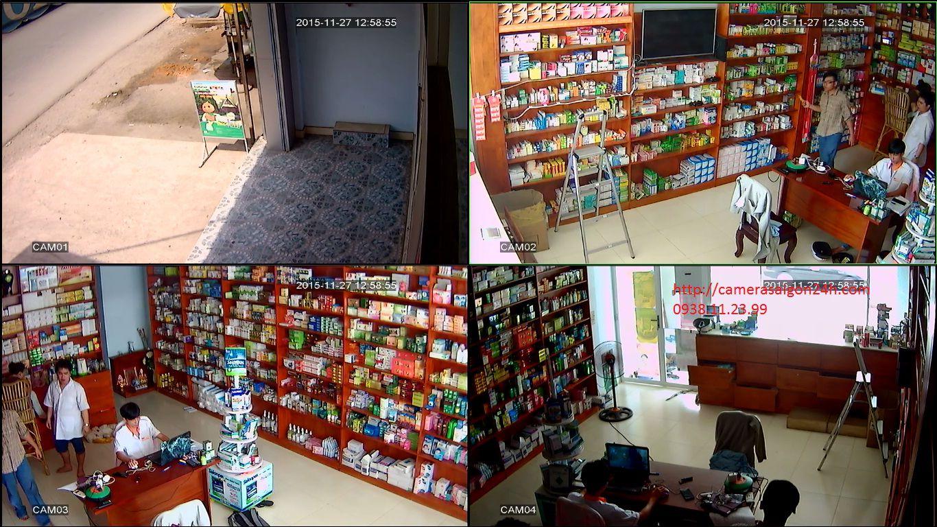 Lắp đặt camera quan sát tiệm thuốc tây thủ đức