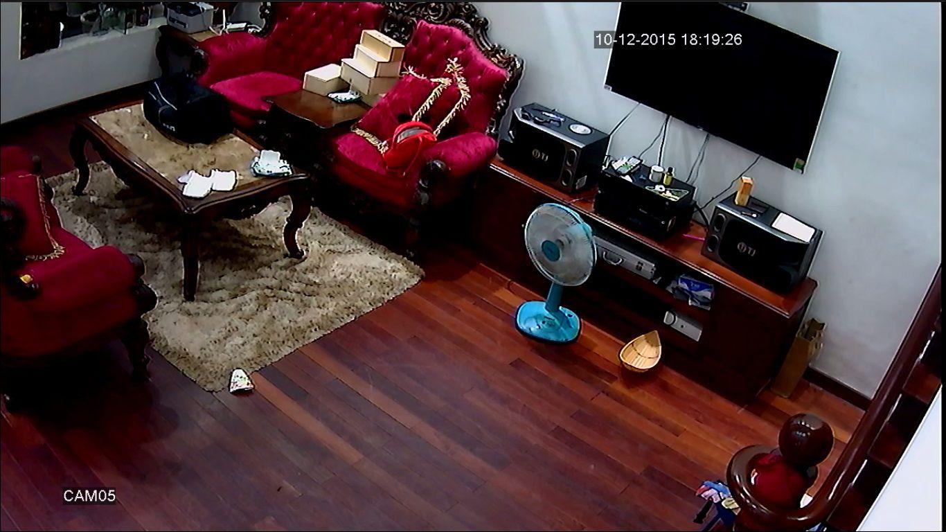camera giám sát biệt thự