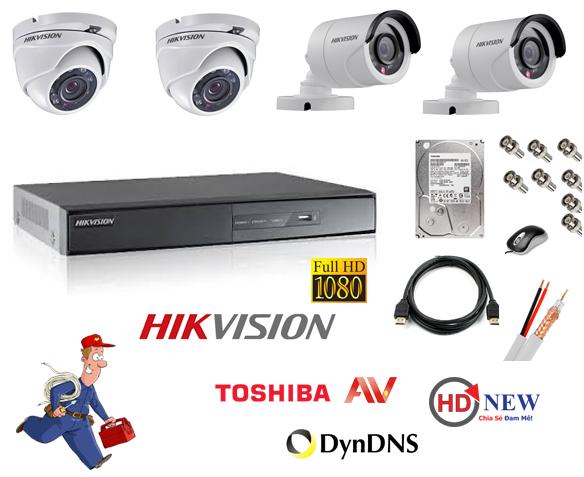 Hướng dẫn cài đặt xem camera Hikvision cho điện thoại