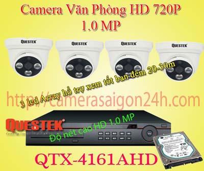 Lắp đặt camera quan sát giá rẻ Camera Quan Sát HD Gia Đình QTX-4161AH