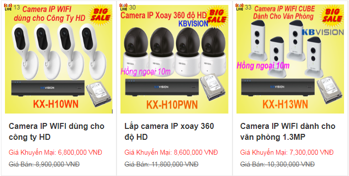 camera IP WIFI KBVISION