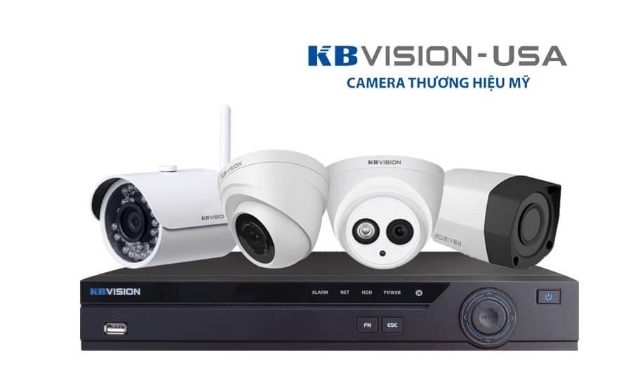 Vuhoangtelecom phân phối Camera KBVISION thương hiệu mỹ
