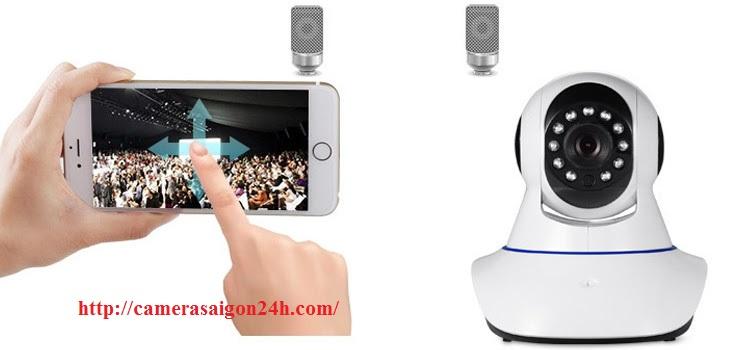 camera wifi quay 360 độ
