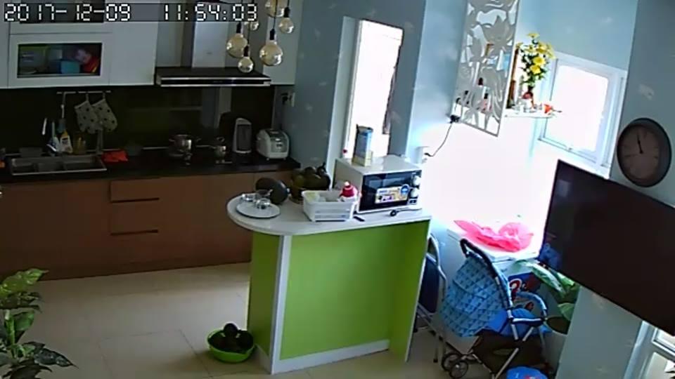 lắp đặt camera quan sát nhà bếp ở quận 3