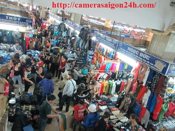 lap camera cho khu chợ