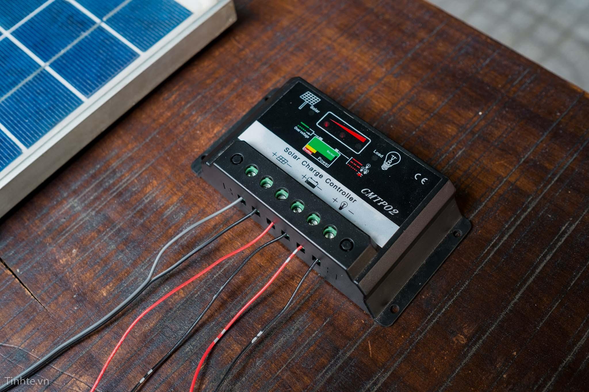 hệ thống năng lượng mặt trời áp dụng cho camera quan sát