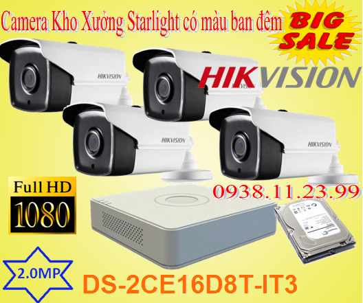 Camera STARLIGHT Khu Phố có màu ban đêm , camera starlight ,camera DS-2CE16D8T-IT3 , DS-2CE16D8T-IT3 ,2CE16D8T-IT3