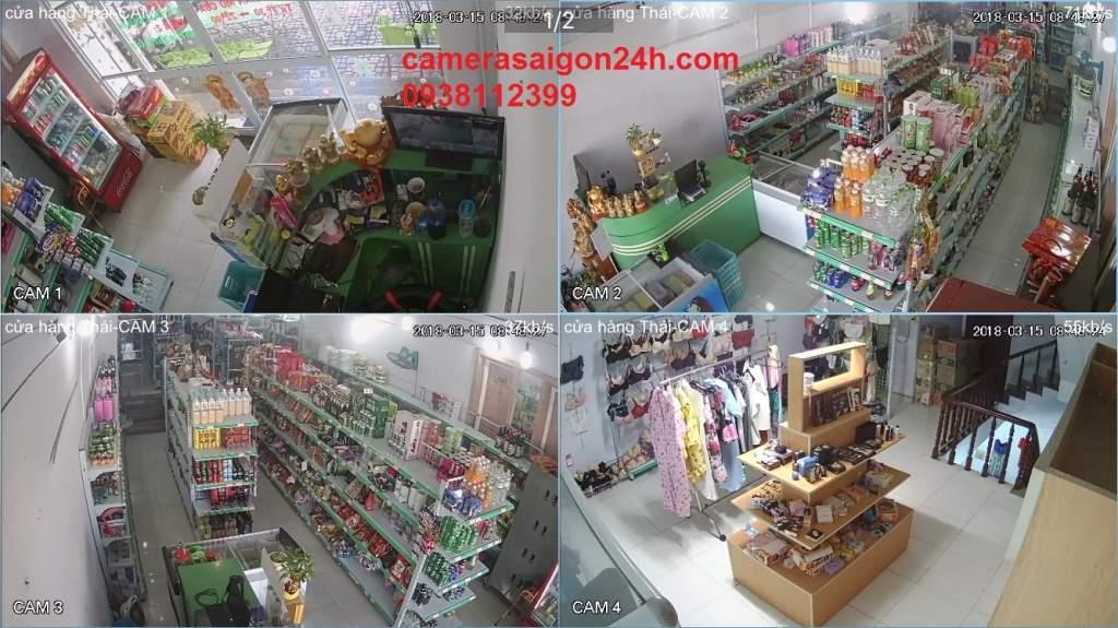 lắp camera quan sát wifi dành cho cửa hàng giá rẻ