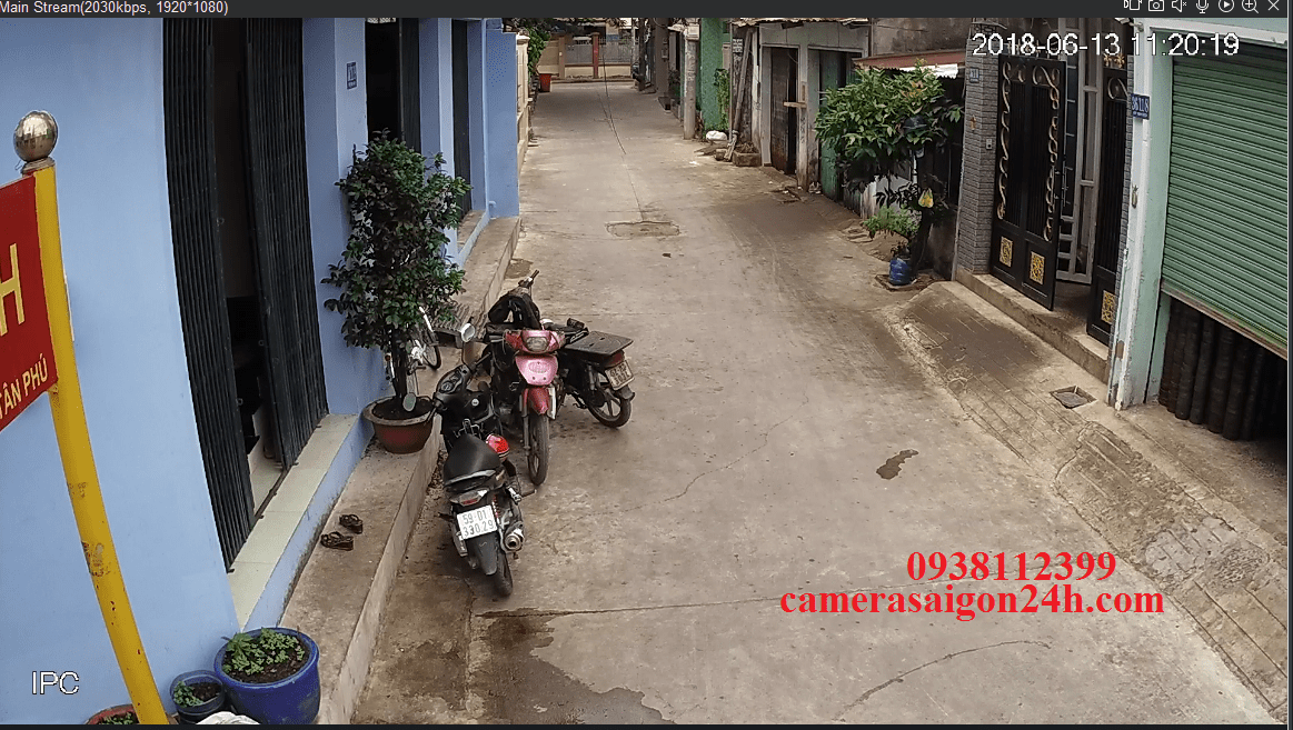 CAMERA IP khu phố FULL HD