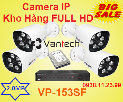 lắp camera quan sát,Camera IP Kho Hàng FULL HD , Camera IP FULL HD , Camera IP VP-153SF FULL HD , Camera IP VP-153SF , VP-153SF