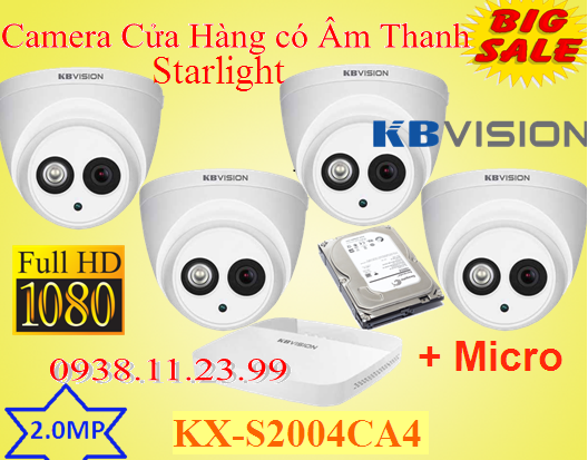 Camera KX-S2004CA4 dòng camera Cảm biến hình ảnh: 1/2.8