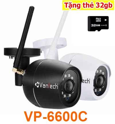 Lắp đặt Camera IP WIFI ngoài trời VP-6600C là giải pháp hưu hiệu để giám sát, quản lý và giảm thiểu tối đa nhất chi phí khi lựa chọn lắp đặt camera quan sát ở những khu vực mưa nắng hay ngoài trời, Camera IP wifi ngoài trời VP-6600C là một bước tiến mới giúp giải quyết những nhu cầu thiết thực của người sử dụng hệ thống camera giám sát. Hãy liên hệ Camera An Thành Phát theo số hotline 0938112399 để được tư vấn rõ nhất.