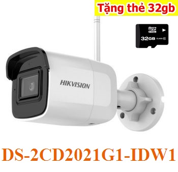 Lắp camera IP WIFI Ngoài Trời DS-2CD2021G1-IDW1,DS-2CD2021G1-IDW1,lắp camera wifi DS-2CD2021G1-IDW1,hikvisio DS-2CD2021G1-IDW1