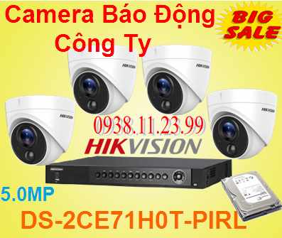 Lắp Camera Báo Động Công Ty , camera báo động , camera DS-2CE71H0T-PIRL , DS-2CE71H0T-PIRL , DS-2CE71H0T ,
