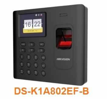 Máy chấm công DS-K1A802EF-B , DS-K1A802EF-B ,K1A802EF-B , K1A802EF