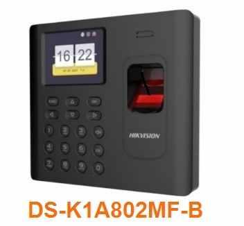 Máy chấm công DS-K1A802MF-B , DS-K1A802MF-B , K1A802MF-B , K1A802MF