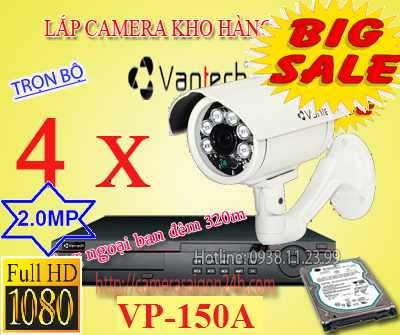 VP-150A , 150A , camera nha xuong , camera full hd