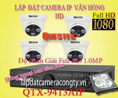 Lắp đặt camera IP cho văn phòng HD