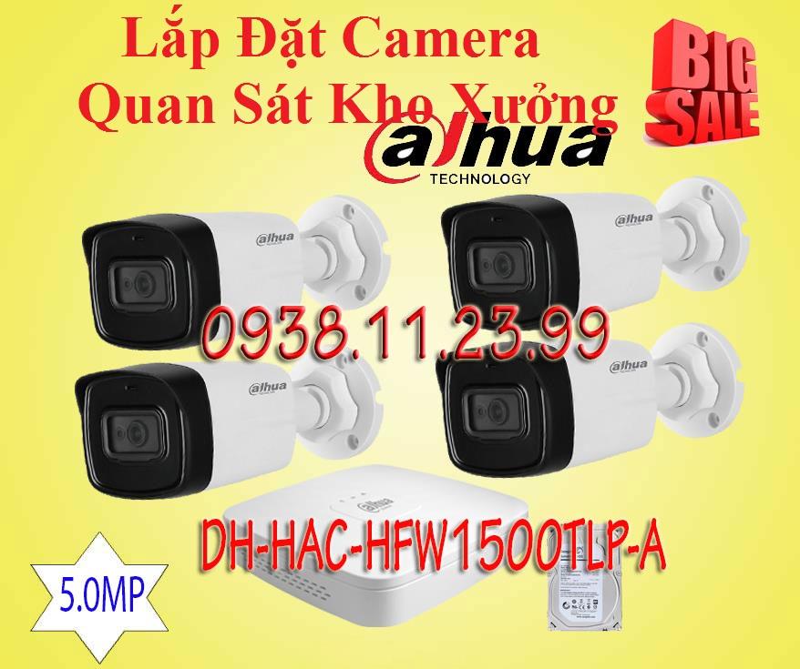 Lắp đặt camera Lắp Đặt Camera Quan Sát Dành Cho Kho Xưởng