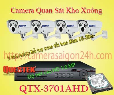 Lắp đặt camera quan sát giá rẻ camera quan sát cho kho bãi