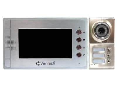 VP-02VD ,Chuông cửa màn hình màu VANTECH VP-02VD ,VANTECH VP-02VD,