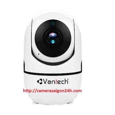 Camera IP không dây VP-6700C tích hợp micro và loa giúp bạn đàm thoại 2 chiều