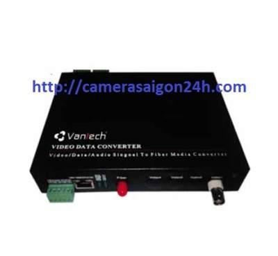 Bộ chuyển cáp quang 1 kênh Vantech VTF-01D, VTF-01D, ntechF VT-01D ,Bộ chuyển cáp quang VT-01D