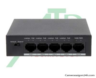 Dahua PFS3005-4P-58 ,Switch POE 2 lớp Dahua PFS3005-4P-58 ,PFS3005-4P-58