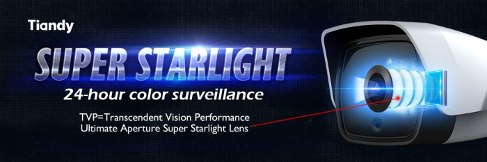 camera công nghệ starlight