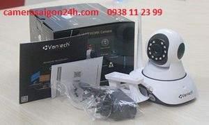 Lắp đặt camera quan sát giá rẻ camera quan sát không dây ip VanTech VT-6300A