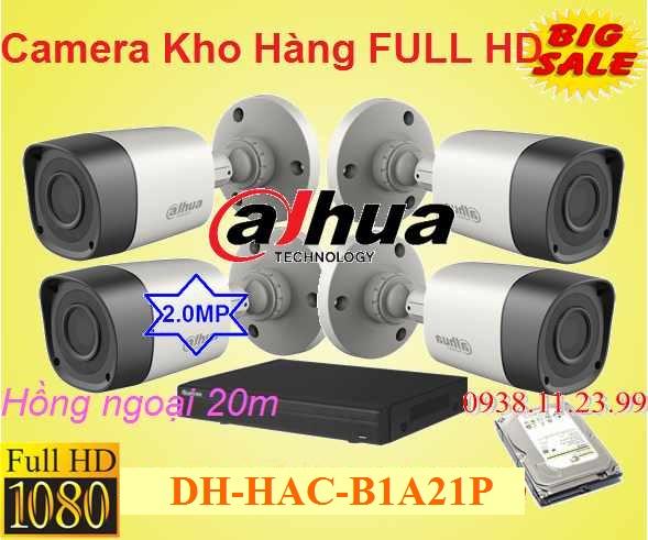 Lắp camera quan sát giá rẻ dahua chất lượng