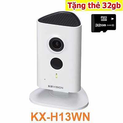 Sản phẩm camera IP không dây KBVISION KX-H13WN có độ phân giải cao 1.3 megapixel, nổi bật với thiết kế ấn tượng ngay từ cái nhìn đầu tiên, tiện lợi cho việc lắp đặt với wifi tích hợp, tiêu thụ điện năng thấp cho phép quay quét liên tục lên đến 180 độ. Có tích hợp hồng ngoại và khả năng phát hiện âm thanh thông minh, đàm thoại hai chiều, khả năng chạy độc lập với lưu trữ đám mây.