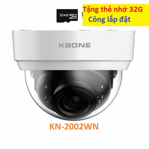 KBONE-KN-2002WN,KN-2002WN,2002WN,camera wifi,camera gia đình,camera giá rẽ,lắp camera wifi KBONE-KN-2002WN