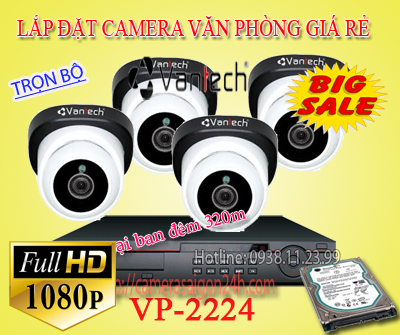 Bộ camera quan sát vantech 2.0MP