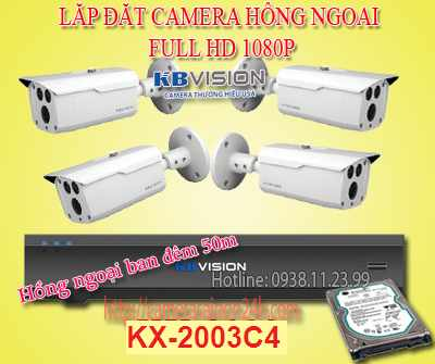 Lắp đặt camera hồng ngoại FULL HD  là dòng sản phẩm camera KB-Series nhập khẩu Made in CHINA (Đối tác sản phẩm: Pegatron, Sony China), dòng hàng phổ thông, giá thành hợp lý cho các công trình vừa và nhỏ như: gia đình , cửa hàng , nhà máy, siêu thị, tòa nhà, trường họ