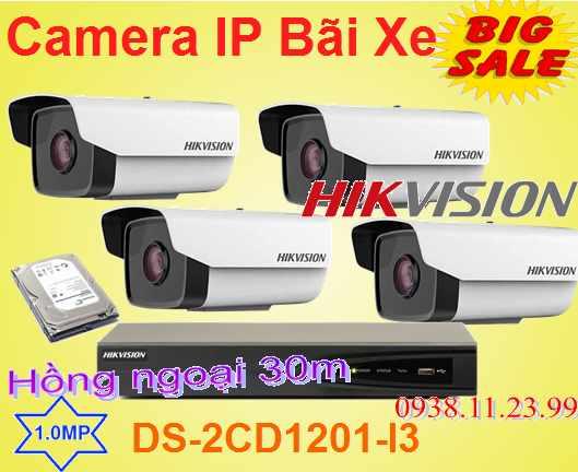 Lắp đặt camera tân phú Lắp Camera Quan Sát IP dùng cho Bãi Xe