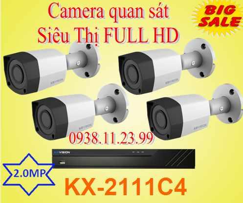 Lắp đặt camera lắp đặt camera quan sát siêu thị FULL HD