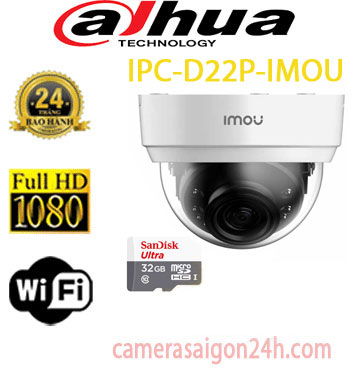 Camera quan sát DAHUA IP WIFI DH-IPC-D22P-imou , Camera quan sát DAHUA IP WIFI DH-IPC-D22P-imou ,DH-IPC-D22P-imou , DH-IPC-D22P, Camera IP Wifi Dome 2.0MP IPC-D22P-IMOU