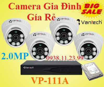 Lắp camera Gia Đình giá rẻ , camera gia đình , camera giá rẻ , camera VP-111A , VP-111A